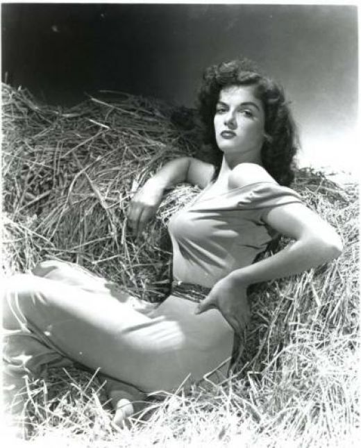 classic pin up girl jane russell