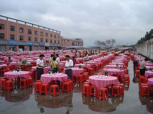 big Chinese wedding