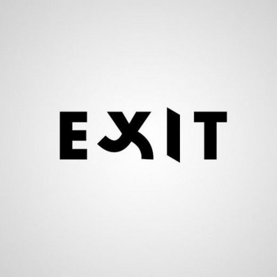 words as images-exit