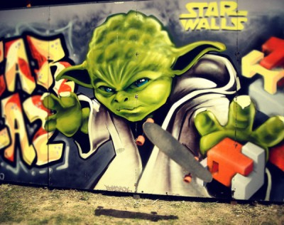 Geek chic - wicked cool street art graffiti