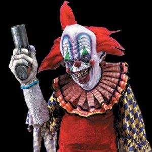 Coulrophobia - evil clown