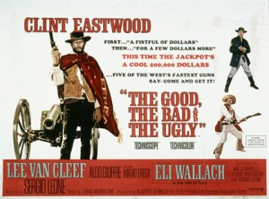 The Good the Bad and the Ugly movie poster