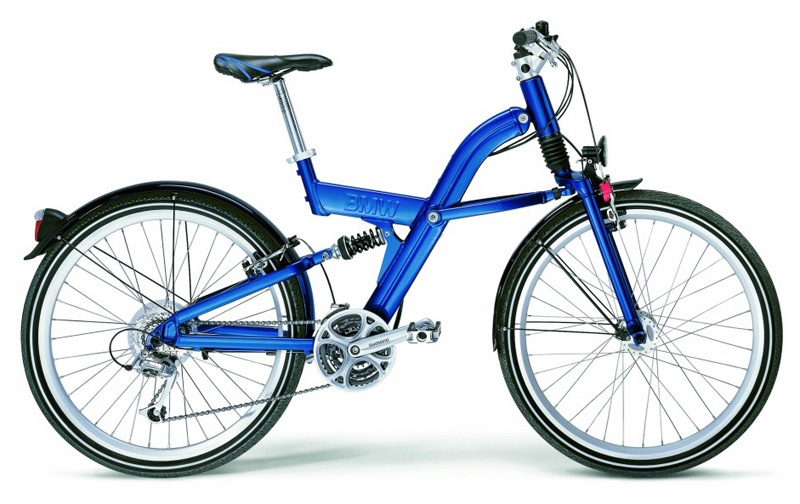 BMW folding mountain bike-b