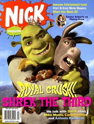 Nickelodeon magazine cover