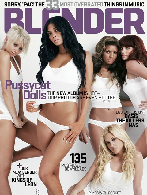 blender magazine cover - pussy cat dolls