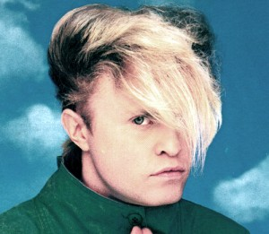 List o' 10 of the Most Outrageous Modern Age Hairstyles - flock of seagulls hair - yikes