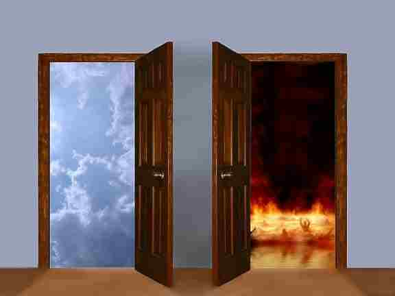 heaven and hell doors