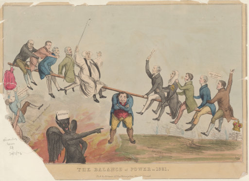 1867 Reform Act cartoon