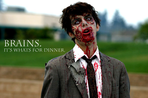 zombie-brains its whats for dinner