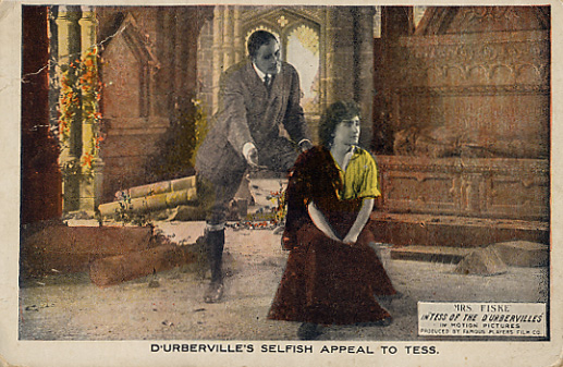 Alec dUrberville and Tess portrait