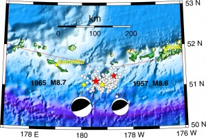 List o' Top 10 (Ten) Biggest Earthquakes of Modern Times - Andreanof Islands quake