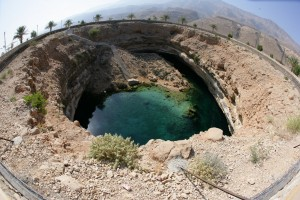 List o' 10 Biggest Sinkholes on the Planet - Bimmah sinkhole
