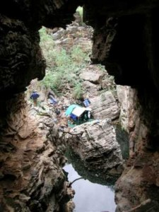 List o' 10 Biggest Sinkholes on the Planet - Boesmansgat sinkhole