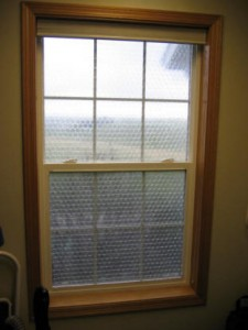 List o' Top 10 Uses for Bubble Wrap - Bubble Wrap Window Insulation
