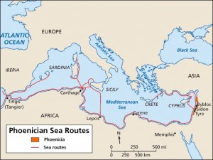 Phoenician routes