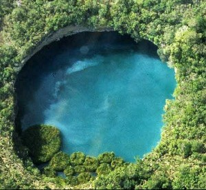 List o' 10 Biggest Sinkholes on the Planet - Zacaton sinkhole