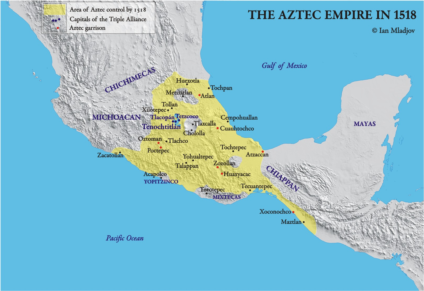 the advance civilization of the aztec empire Modern-day mexico city sits atop the ruins of this once-great center of the aztec empire two cities made the site of tenochtitlan-tlatelolco the economic.