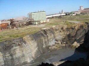 List o' 10 Biggest Sinkholes on the Planet - berezniki sinkhole