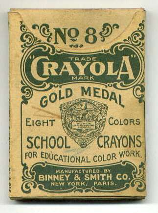 vintage crayola old pack-1