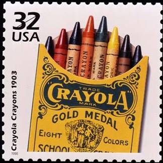crayola crayons old pack