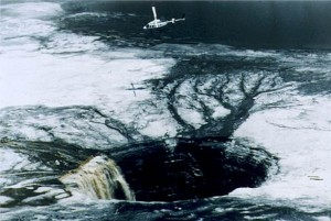 List o' 10 Biggest Sinkholes on the Planet - gypsum stack sinkhole