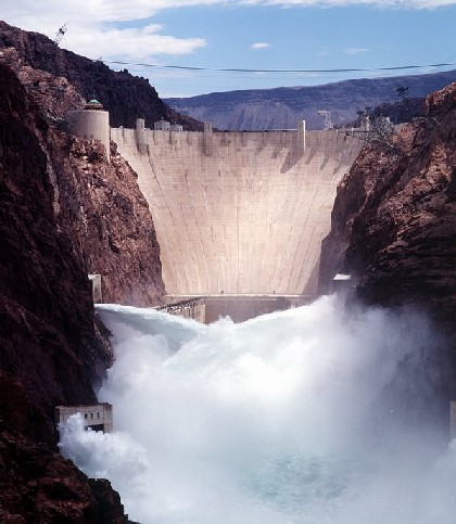 hydro power-plant hoover dam