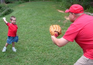 List o' 15 Games Kids Played Before the Internet: playing_catch