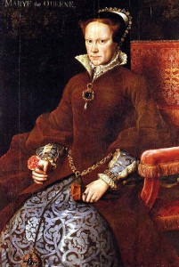 List o' 15 Cruelest Figures of History: queen mary tudor 1