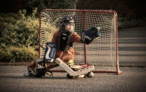 List o' 15 Games Kids Played Before the Internet: street hockey