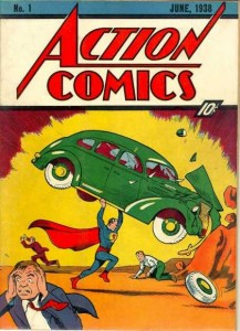 List o' 13 Most Valuable Comic Books - Action Comics #1