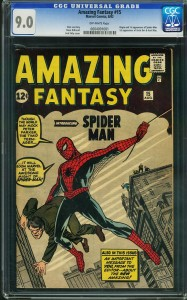 List o' 13 Most Valuable Comic Books - Amazing Fantasy #15