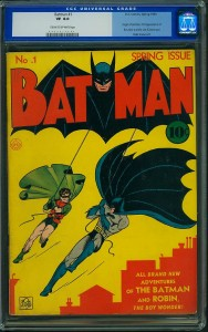 List o' 13 Most Valuable Comic Books - Batman #1