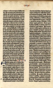 List o' 10 Rarest Printed Books - Gutenberg Bible