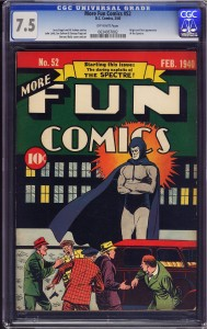 List o' 13 Most Valuable Comic Books - More Fun #52