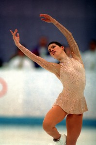 List o' 10 Great Winter Olympics Moments  - NANCY KERRIGAN USA