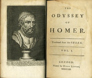 List o' 10 Rarest Printed Books - Odyssey tr by Alexander Pope