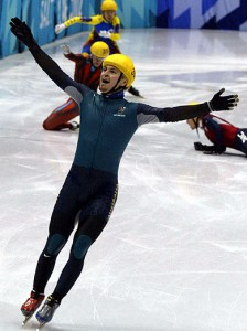 List o' 10 Great Winter Olympics Moments  - Steven Bradbury