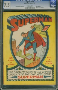 List o' 13 Most Valuable Comic Books - Superman #1