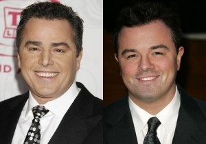 Christopher Knight and Seth Mcfarlane