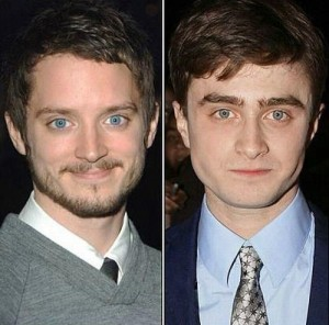 Elijah Wood and Daniel Radcliffe