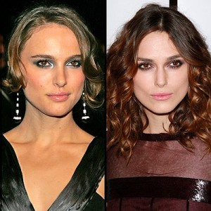 Keira Knightly and Natalie Portman
