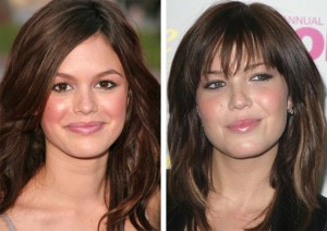 Rachel Bilson and Mandy Moore