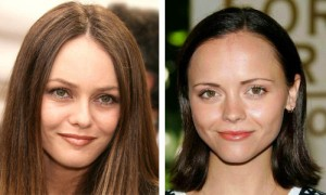 Vanessa Paradis and Christina Ricci