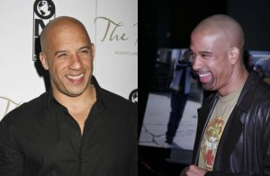 Vin Diesel and Dorian Gregory