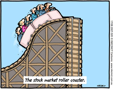 The stock market roller coaster