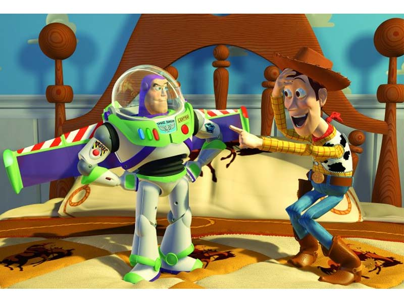 toy-story buzz lightyear and woody