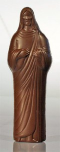 jesus in chocolate form