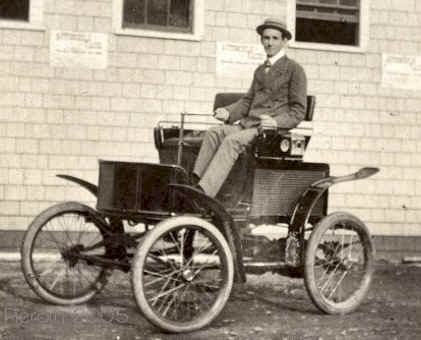 1900 New England Electric Automobile car