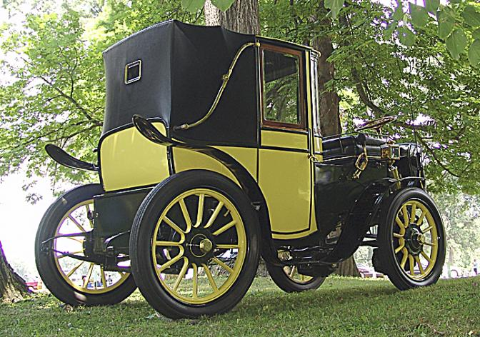 1904 Kreiger Brasier hybrid car