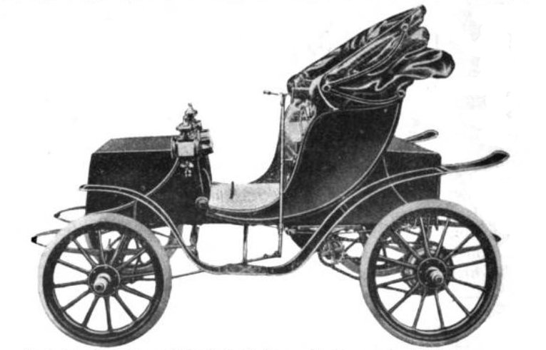1906 Woods Queen Victoria Electric Car
